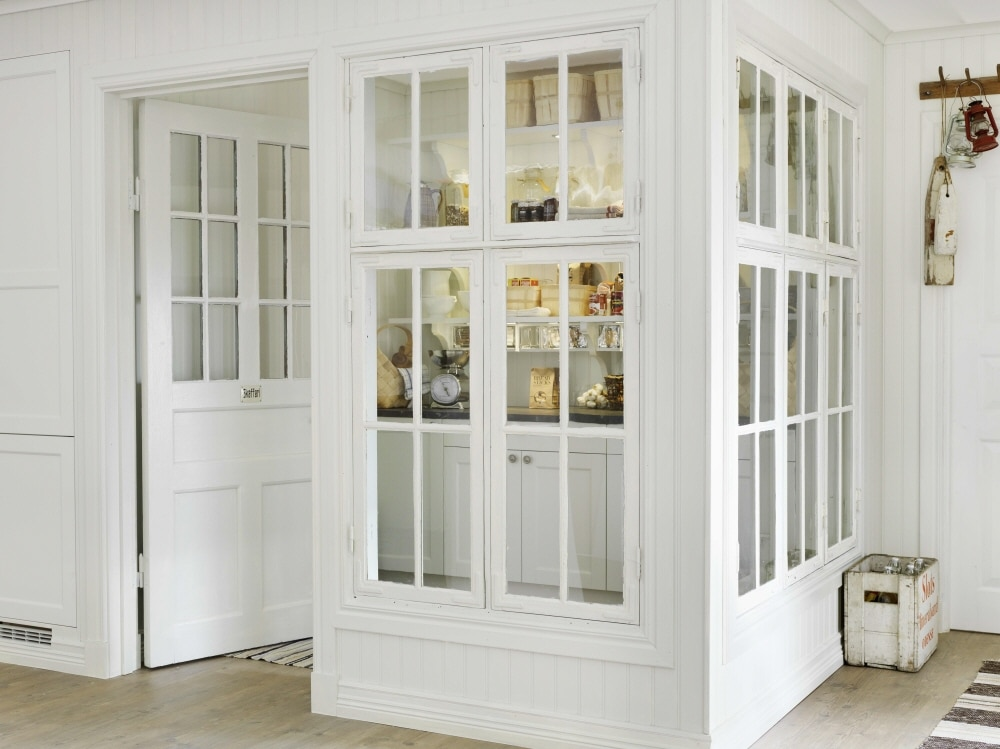 Farmhouse Pantry With Window